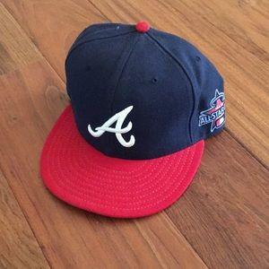 New Era Accessories - Atlanta Braves All-Star Game 2010 hat, Size 7 1/2